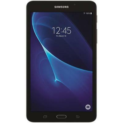 "SAMSUNG GALAXY TAB A SM-T280N  7"" BLACK SM-T280 5MP GPS NOOK TABLET 8GB Wi-Fi"