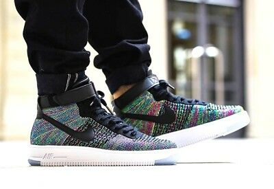 newest 7dbe9 506d1 nike air force 1 ultra flyknit mid multicolor+Neu+OVP+Gr. 41