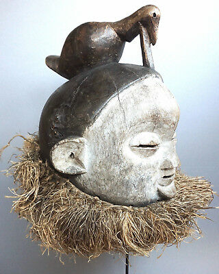 Authentic Suku Helmet Mask · Helm Aufsatzmaske · Casque SUKU · R.D.DU CONGO