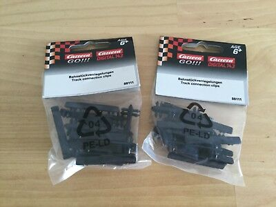 CARRERA Go Track Connection Clips Accessories 88111 2 Packs 1 : 43