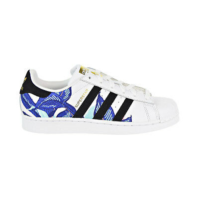 superior quality fbe01 b38f2 Adidas Superstar Women s Shoes White Black Blue B28014
