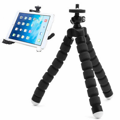 Tripod Flexible Stand Gorilla Mount Monopod Holder For GoPro Camera Black