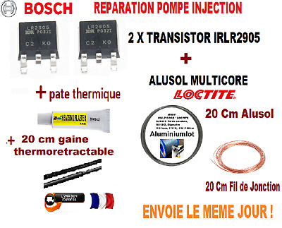 2 X IRLR2905 kit reparation pompe injection BOSCH VP29 VP30 VP44 PSG16..+ ALUSOL