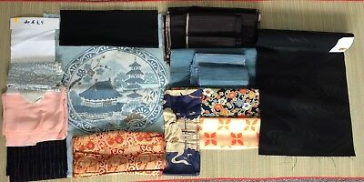Approx. 1.5kg of vintage Japanese fabric