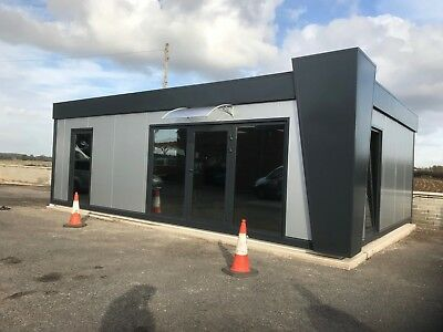 Portable Office 30x20 ft Temporary Modular Building, Portable Cabin 40 £/ft²+VAT