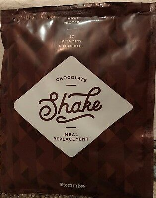 EXANTE 20 Chocolate Shakes & Exante Snack Bar 🍫