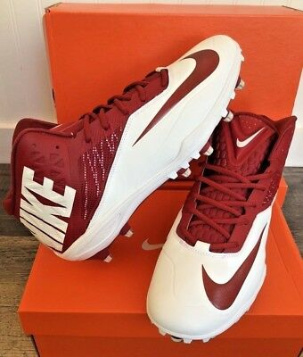 the latest 954b7 a5c9e NEW Nike Zoom Code Elite 3 4 TD Football Cleats Red White 603368-
