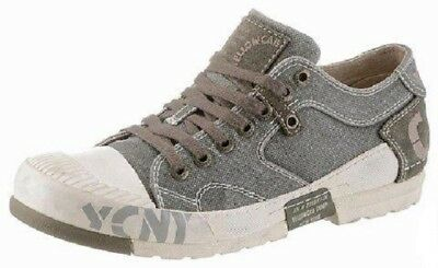 sports shoes ca000 b0da0 Y15439 Mens Grey Mud Yellow Cab Herren Sneakerboots Dark ...