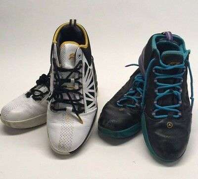 brand new 67414 2ab7b (2) JORDAN CP3 IV Chris Paul Men s Basketball Shoes White Sz 12   Black