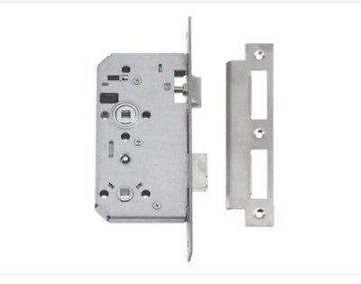 UNION 72MM DIN Euro Cylinder Mortice Lock Stainless Steel 3½ / 88mm