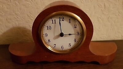 Antique Wooden Mantel Clock