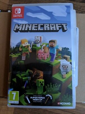 Minecraft Bedrock Edition Nintendo Switch In Stock Now New