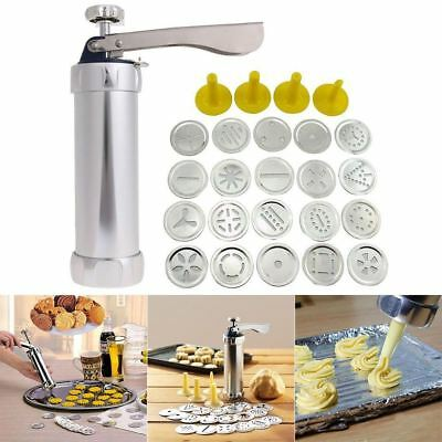 Biscuit Shape Maker Cookie Stamp Press Pump Cutter Set