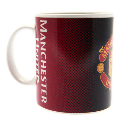 Manchester United Fc Gradient Heat Changing Ceramic Tea Coffee Mug Cup Xmas Gift