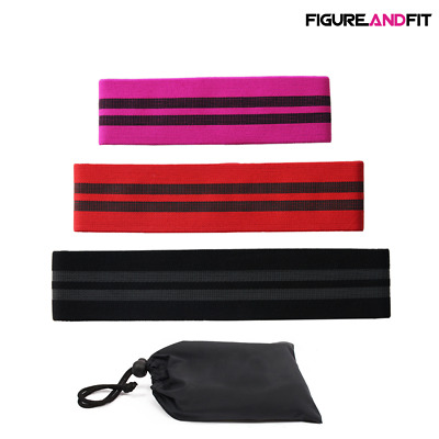 Resistance Bands HIP CIRCLE Loop Rotation Glute Elastic Exercise Fitness