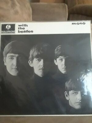 THE BEATLES,:WITH THE BEATLES-MONO VINYL RECORD,LIKE NEW, FREE Shipping
