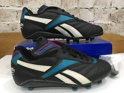4335d03d1affac Vintage Reebok Quest RS Soccer Football Boots UK 8 US 8.5 Eu 42 Black BNIB  SG