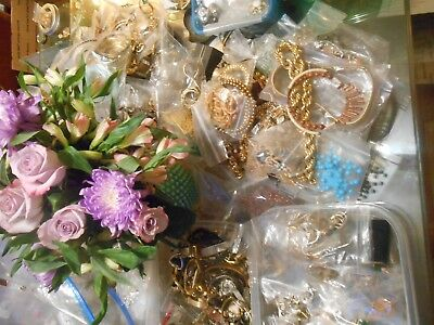 JEWELRY LOT 5 BROOCHES PINS ALL Wearable Resell Estate Vintage Grab Bag Treasure