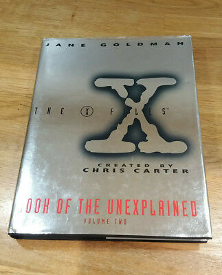 Signed X-files Book of the Unexplained: paranormal Volume 2 two by Jane Goldman