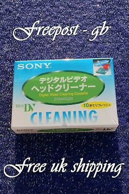 Quality Sony Dvm-4Cld2 Mini Dv Digital Camcorder Head Cleaning Tape/ Cassette