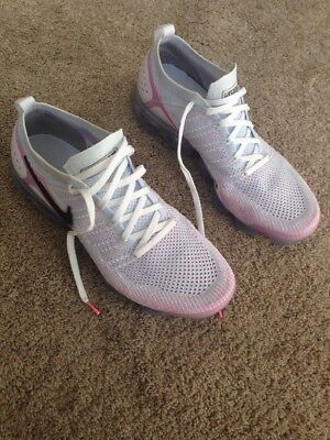 pretty nice c7af3 cb584 NIKE AIR VAPORMAX 2 Flyknit size 12. White Hydrogen Blue Pink . 942842-102