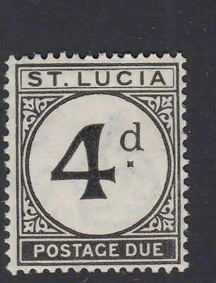 ST.LUCIA SGD5 1947 4d POSTAGE DUE MNH