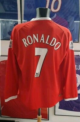 Maillot jersey maglia camiseta trikot shirt manchester United ronaldo 2006  2007 71289a2caef6f