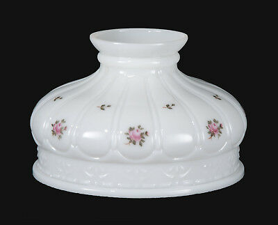 "NEW 10"" Opal Coleman Shade, Amish Roses Scene"