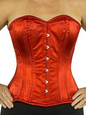 e074f94fe2 SWEETHEART SHAPE OVER Bust Steel Boned Real leather Corset 9999R M ...