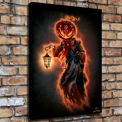 Pumpkins Halloween HD Canvas print Painting Home Decor Picture Room Wall art 506