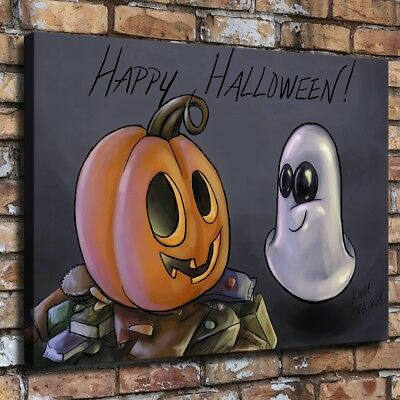 Halloween HD Canvas print Painting Home Decor Picture Room Wall art Poster 09657