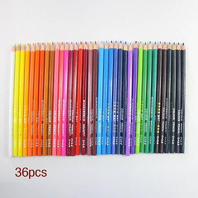 36 pcs Colored Pencils 36 Color Pack Sketching Easy Color Set Drawing Artist  AC