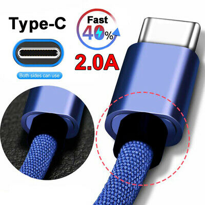 2A USB Type-C Fast Charging Data Sync Cable For Huawei P20 Pro P10 Plus Mate 9