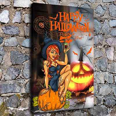 Halloween HD Canvas print Painting Home Decor Picture Room Wall art Poster H2218