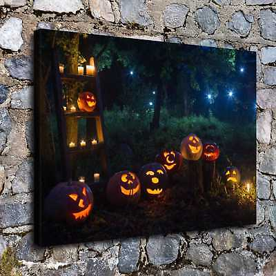 Halloween HD Canvas print Painting Home Decor Picture Room Wall art Poster H2233