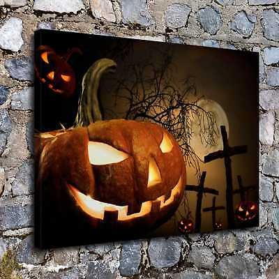 Halloween Squash HD Canvas print Painting Home Decor Picture Room Wall art H2249