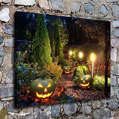 Halloween HD Canvas print Painting Home Decor Picture Room Wall art Poster H2256