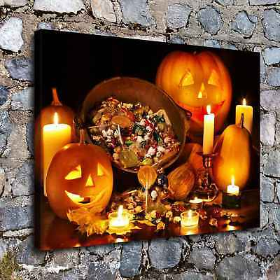 Halloween HD Canvas print Painting Home Decor Picture Room Wall art Poster H2257