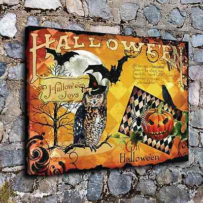 Halloween HD Canvas print Painting Home Decor Picture Room Wall art Poster H2269