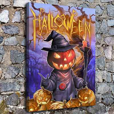 Halloween HD Canvas print Painting Home Decor Picture Room Wall art Poster H2278