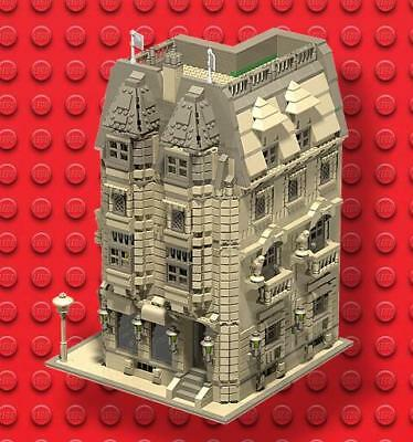 LEGO BUILDING instructions PDF, LDD and Inventory List 2678 pieces
