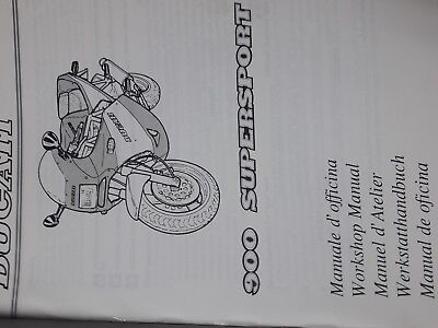 Manuale di Officina ducati supersport 900
