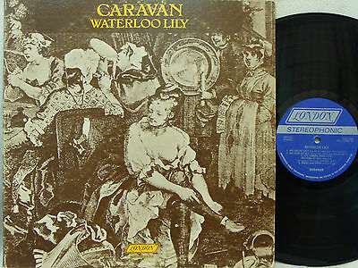CARAVAN	 - Waterloo Lilly LP (1st US Pressing on LONDON, w/1972 date Etched)