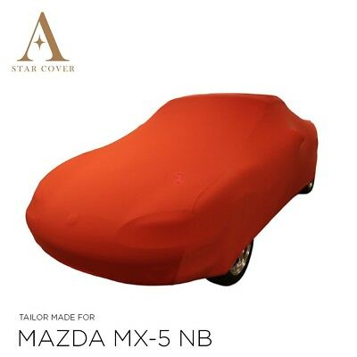 Mazda Mx-5 Nb Indoor Car Cover > Bespoke > Tailored Covers > Maranello Red > Mk2