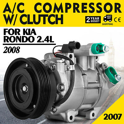 Up A//C AC Compressor For Kia Rondo 2007 2008 2.4L 97701-1D200AS Best