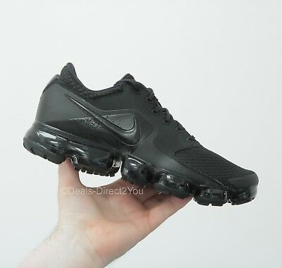 eefce2f6a6fe Nike Air Vapormax Mesh Triple Black   Anthracite Mens Size 9 UK NEW AH9046  002