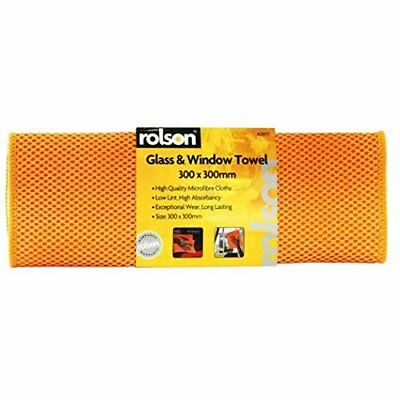 Rolson Clean & Gleam Glass Window Cleaning & Polishing Cloth Towel 42977