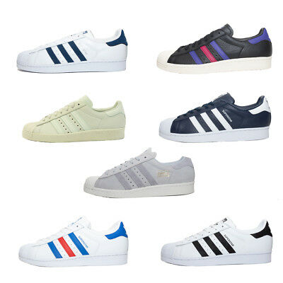 Mens Adidas Originals Superstar Trainers - 7 styles available (TGF21) RRP £74.99