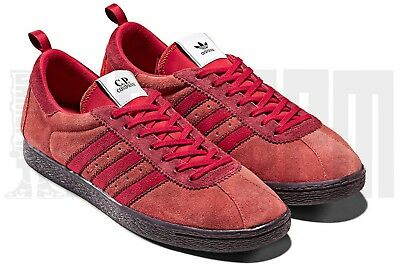2d7f8e962581 ADIDAS ORIGINALS CP Company Tobacco Red Black UK 5 6 7 8 9 10 11 12 ...