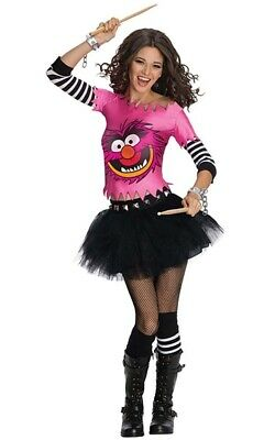 Licensed Animal The Muppets Adult Womens Fancy Dress Halloween Tutu Costume